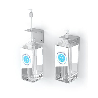Hand Sanitizer Pump Wall Mount - Qlevo - Clever Living