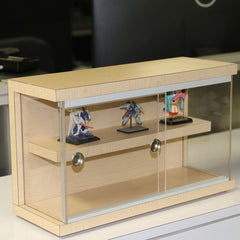 Preassembled Display Case Cabinet Shelves | Handmade | Ready to Use