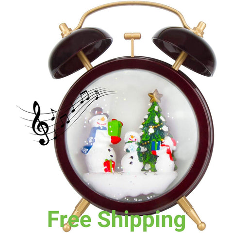 Snowman Christmas Snow Globe - Christmas Decoration