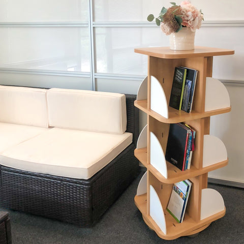 360 Rotating Bookcase