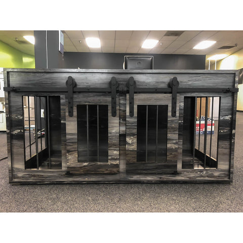 Deluxe Dog House with Barn Doors (Pick-up Option)