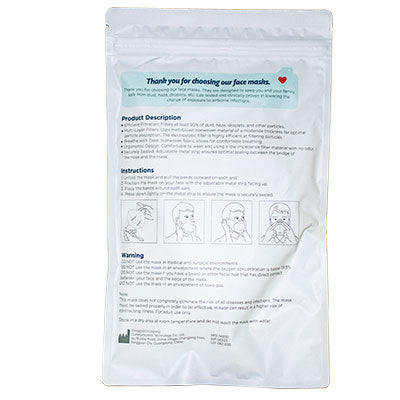KN95 Face Mask Medical-grade - COVID 19 Prevention Supplies - Qlevo - Clever Living