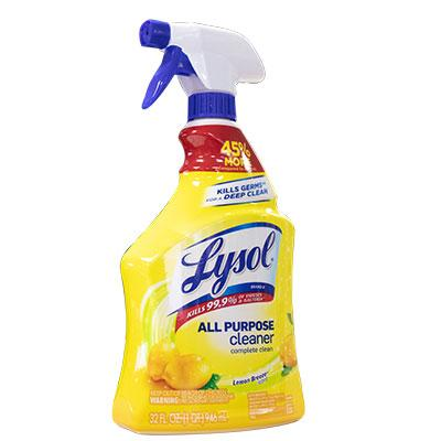 Lysol - All Purpose Cleaner Lemon Flavor - Qlevo - Clever Living