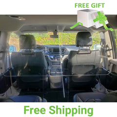 Sneeze Guard for MiniVan - Taxi, Uber & Lyft - Chrysler Pacifica