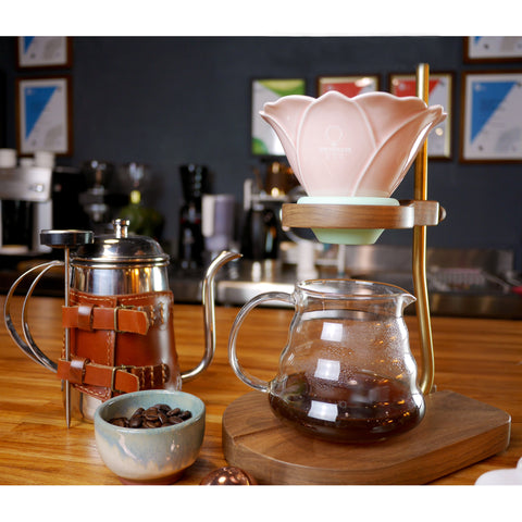 H.U.A. Coffee Dripper & Holder Set