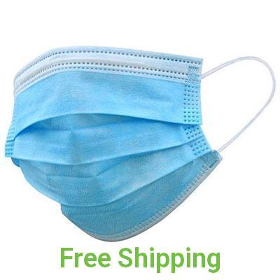 3-Ply PPE Face Mask with Elastic Earloop - Covid 19 Prevention - Qlevo - Clever Living