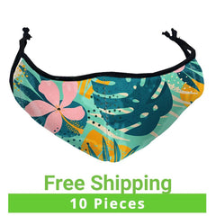 Printed Dye Sub Face Masks, 10 Pieces - Qlevo - Clever Living