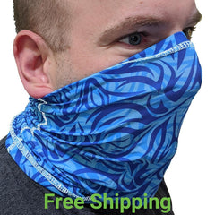Printed Neck Gaiters - Face Covering