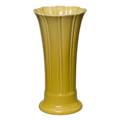 FIESTA Medium Yellow Flower Vase - Qlevo - Clever Living