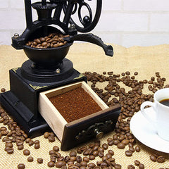 Burr Manual Coffee Grinder - Qlevo - Clever Living