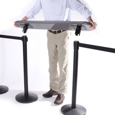 Writing Table for Stanchions Queue Management - Qlevo - Clever Living