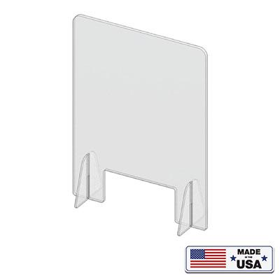 Acrylic Sneeze Guard & Transparent Partitions X-Stand - Qlevo - Clever Living