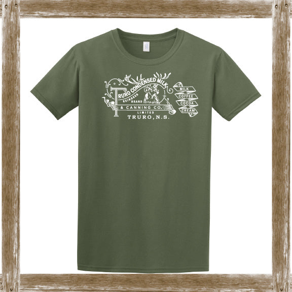 Truro Condensed Milk  Standard Tee Youth & Adult Sizings