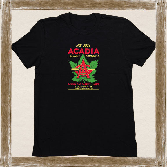 Acadia Gas Standard Tee Youth & Adult Sizings