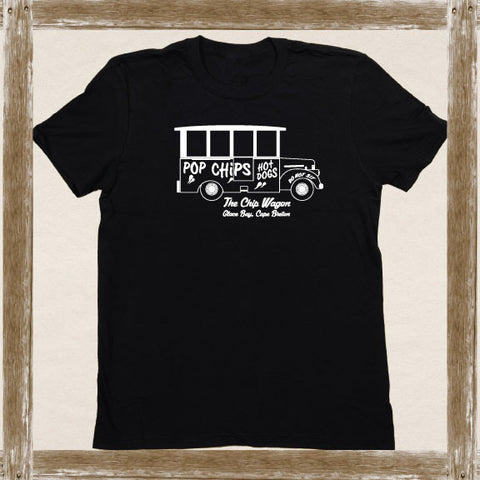 Glace Bay Chip Wagon  Standard Tee Youth & Adult Sizings
