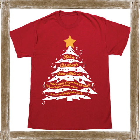 Star of Christmas (English)  Standard Tee Youth & Adult Sizings
