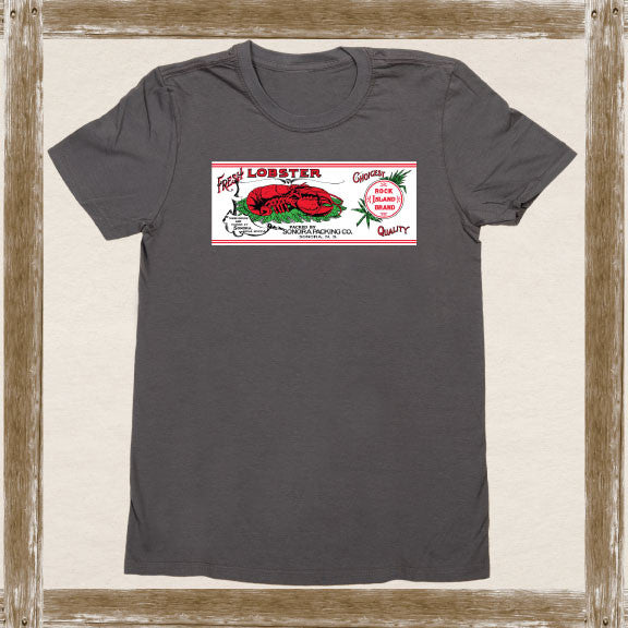 Rock Island Lobster Standard Tee Youth & Adult Sizings