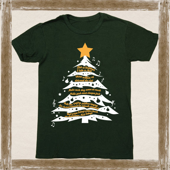 Star of Christmas (Bilingual)  Standard Tee Youth & Adult Sizings