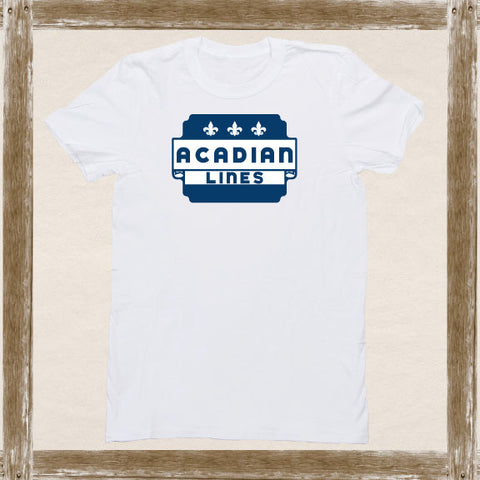 Acadian Lines Standard Tee Youth & Adult Sizings