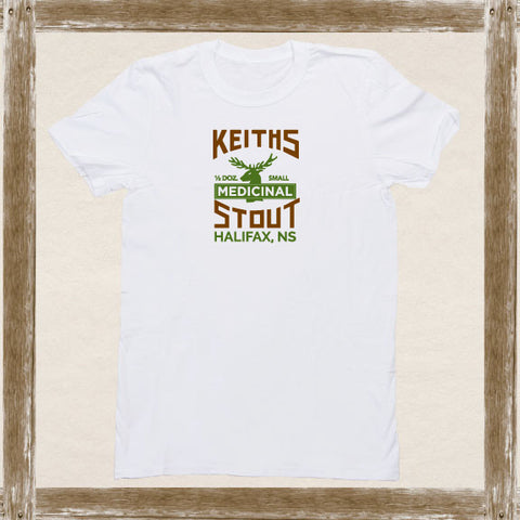 Keith's Medicinal Stout Standard Tee Youth & Adult Sizings
