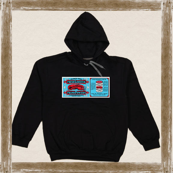 Frank Powers Atlantic Lobster Fleece Hoodie