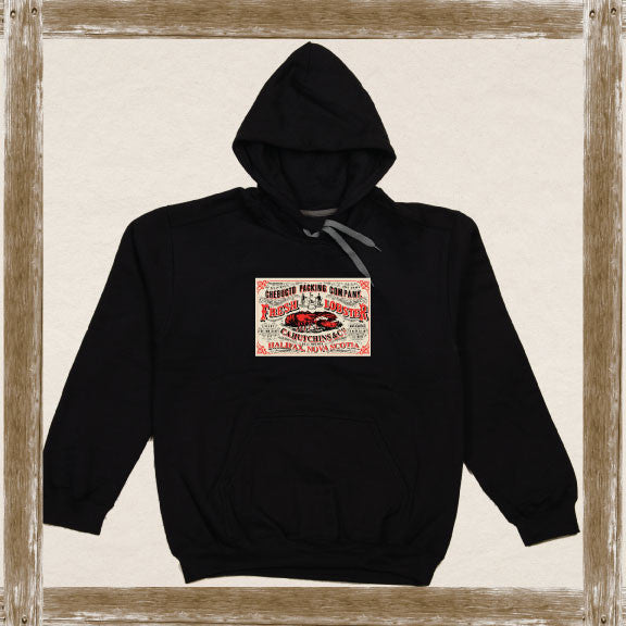 Chebucto Packing Lobster Fleece Hoodie