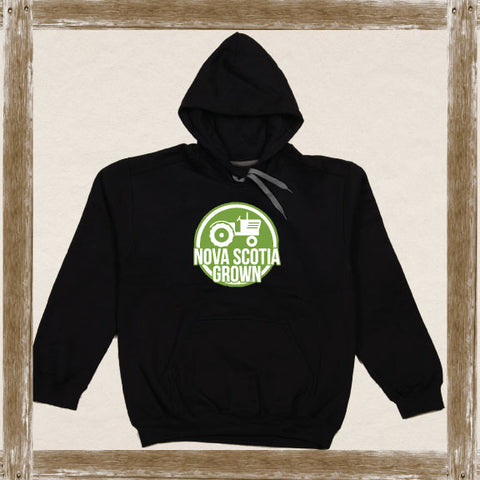 Nova Scotia Grown Tractor Fleece Hoodie