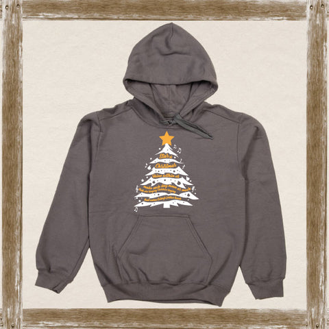 Star of Christmas (English)Fleece Hoodie