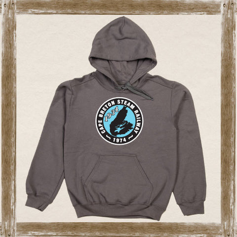 Cape Breton Steam Railway Fleece Hoodie