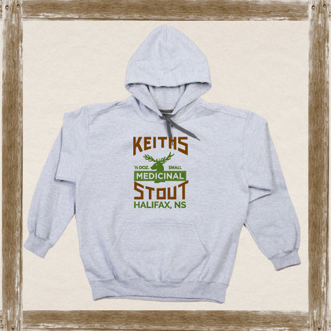 Keith's Medicinal Stout Fleece Hoodie