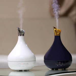 Diffuseur d'huiles essentielles en porcelaine 300ml Air Humidifier 7Color LED Light Aroma Diffuser Aromatherapy Mist Maker