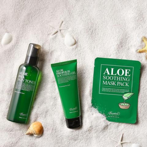 Benton Aloe Starter Pack - BHA Toner & Propolis Gel & Aloe Sheet Mask L'Amour Beauty Korean Skincare Canada