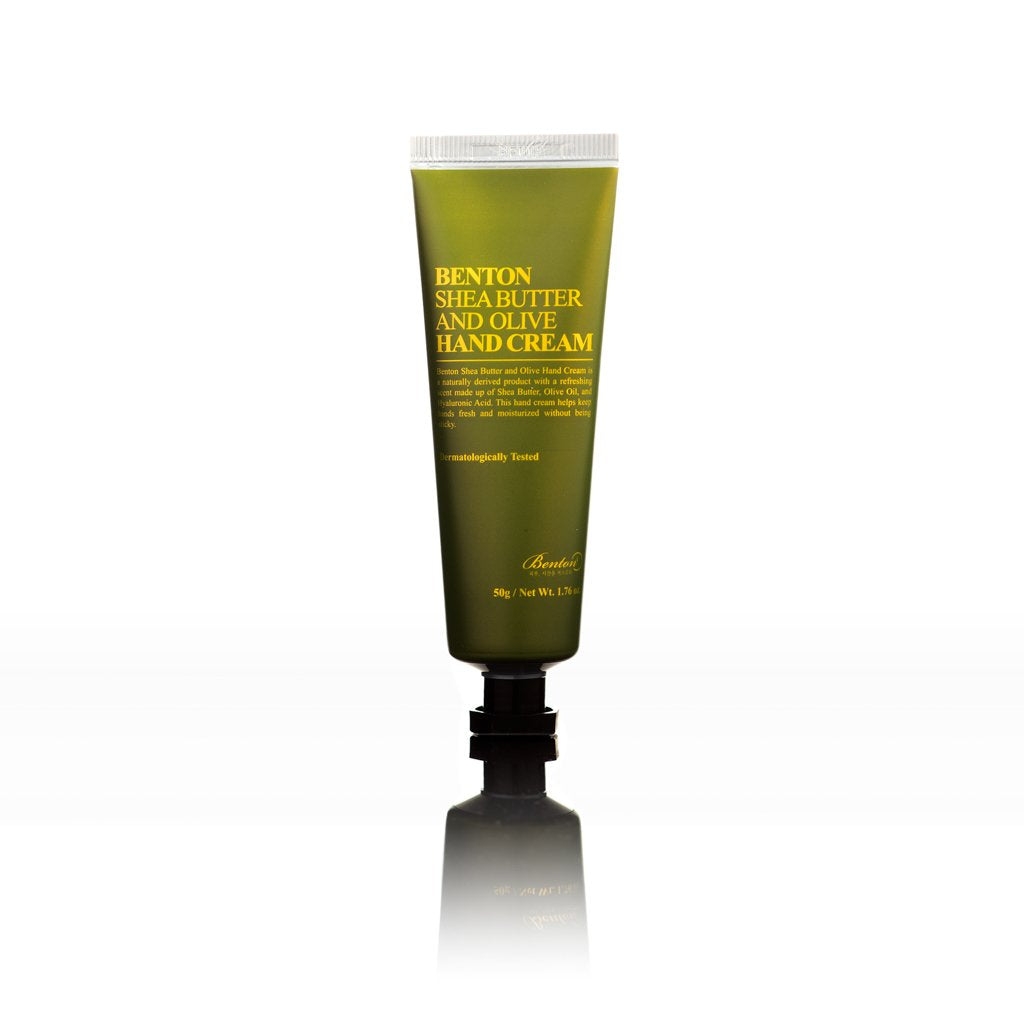 Benton SHEA BUTTER AND OLIVE HAND CREAM LAMOUR BEAUTY CANADA KOREAN BEAUTY