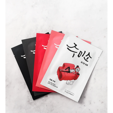 Jumiso Mask Set L'Amour Beauty Korean Skincare Canada