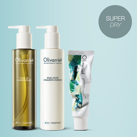 Olivarrier Super Dry Set LAMOUR BEAUTY CANADA KOREAN BEAUTY