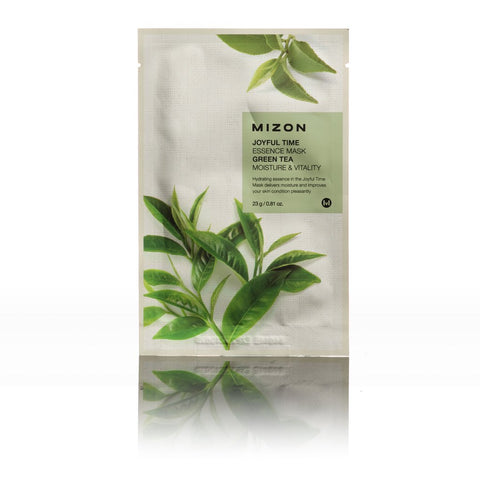 Mizon JOYFUL TIME ESSENCE MASK GREEN TEA LAMOUR BEAUTY CANADA KOREAN BEAUTY