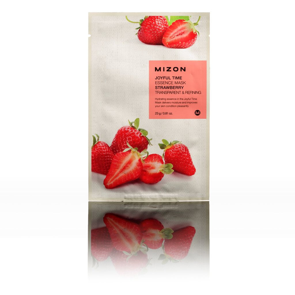 Mizon JOYFUL TIME ESSENCE MASK STRAWBERRY L'Amour Beauty Korean Skincare Canada