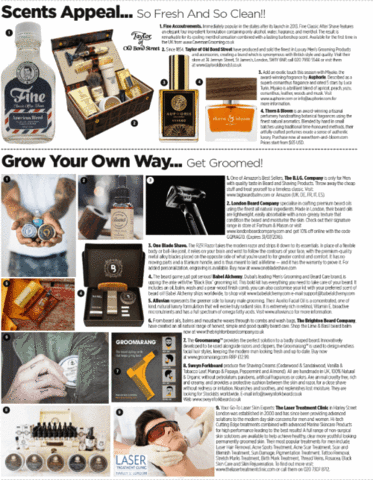 Babel Alchemy Products in GQ Magazine
