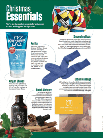 Babel Alchemy Products in Men's Fitness