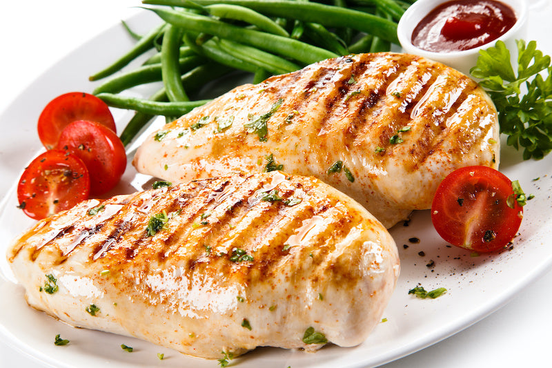Boneless Skinless Chicken Breast  5/ 1 lb. Case (Frozen)