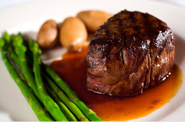 Beef Tenderloin Filet Steaks (IMP)  8/6 oz.