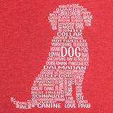 Dog Women's Graphic Crew Neck Tee