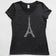 Paris Eiffel Tower V-Neck Tee