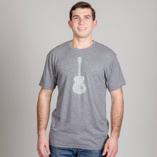 Load image into Gallery viewer, Nashville Guitar Crew Neck Tee