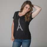 Paris Women's Eiffel Tower Graphic Tee
