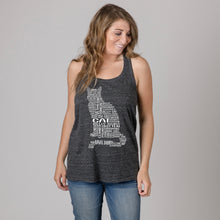 Load image into Gallery viewer, Cat Twist Back Tank Top