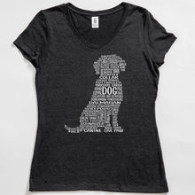 Load image into Gallery viewer, Dog V-Neck Tee