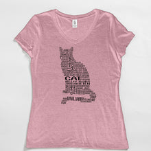 Load image into Gallery viewer, Cat V-Neck Tee