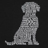 Dog Women's Graphic V-Neck Tee