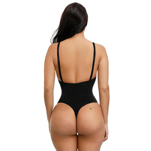 Thong Bodysuit in Black